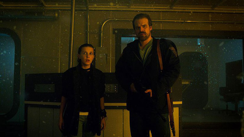 [:tr]Stranger Things 3. Sezon'dan Gizemli Bir Paylaşım Geldi[:en]David Harbour Share Stranger Things Season 3 With Cryptic Photo[:]